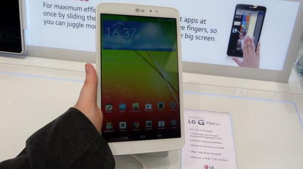 IFA 2013: Nowy tablet LG GPad 8.3 to łakomy kąsek – pierwsze wrażenia Spider's Web [WIDEO]