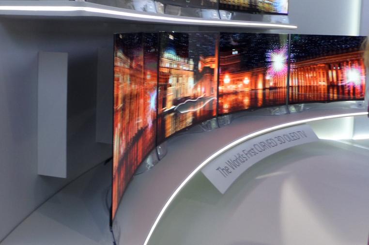 IFA 2013: Oczarował mnie zakrzywiony OLED LG – pierwsze wrażenia Spider's Web