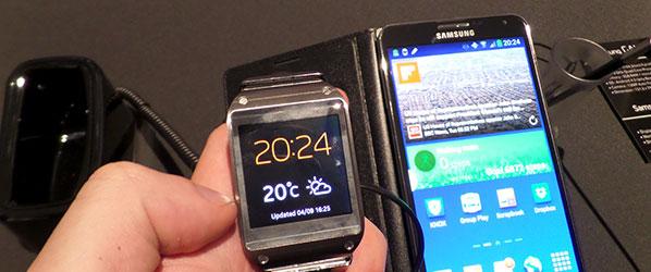 IFA 2013: Zegarek Samsung Galaxy Gear jest lepszy niż myślałem – pierwsze wrażenia Spider's Web [WIDEO]