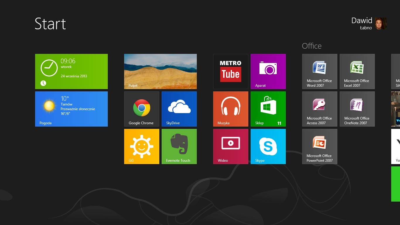 Jak to w końcu jest z tymi kafelkami w Windows 8?