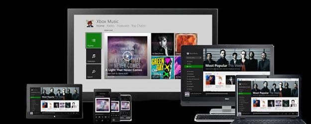 Xbox Muzyka rozpycha się łokciami na rynku