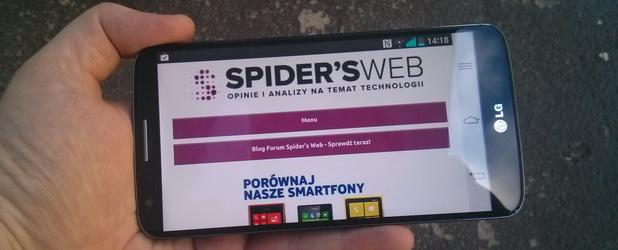 LG G2 to smartfon prawie idealny? – recenzja Spider's Web