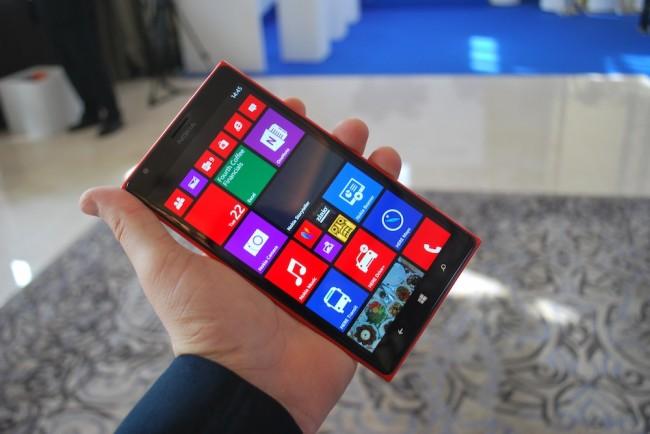 Nokia Lumia 1520, ikona