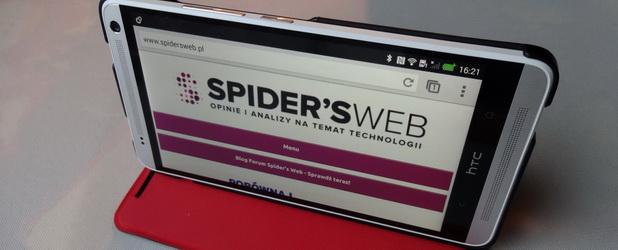 HTC One Max: masa akcesoriów – recenzja Spider's Web