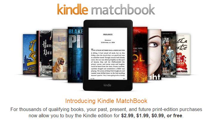 Kindle MatchBook, czyli sposób Amazonu na zarobienie kolejnych kilku dolarów na już raz sprzedanej książce