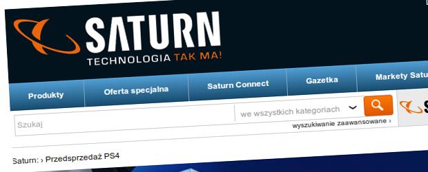 Polska to nie Ameryka – przekonali się o tym klienci Saturna, którzy zapłacili za pre-order konsoli PlayStation 4
