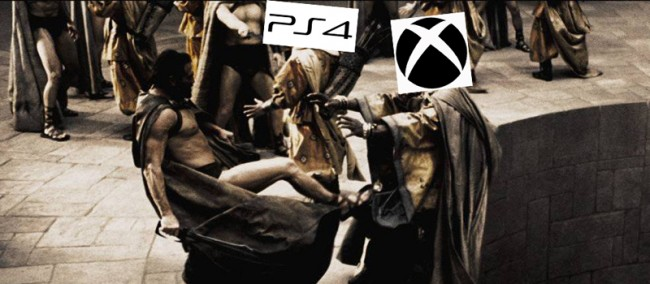 this is sparta xbox one ps4