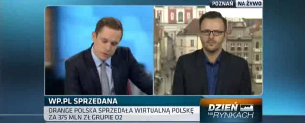 W TVN CNBC o tym dlaczego O2 kupuje Wirtualną Polskę