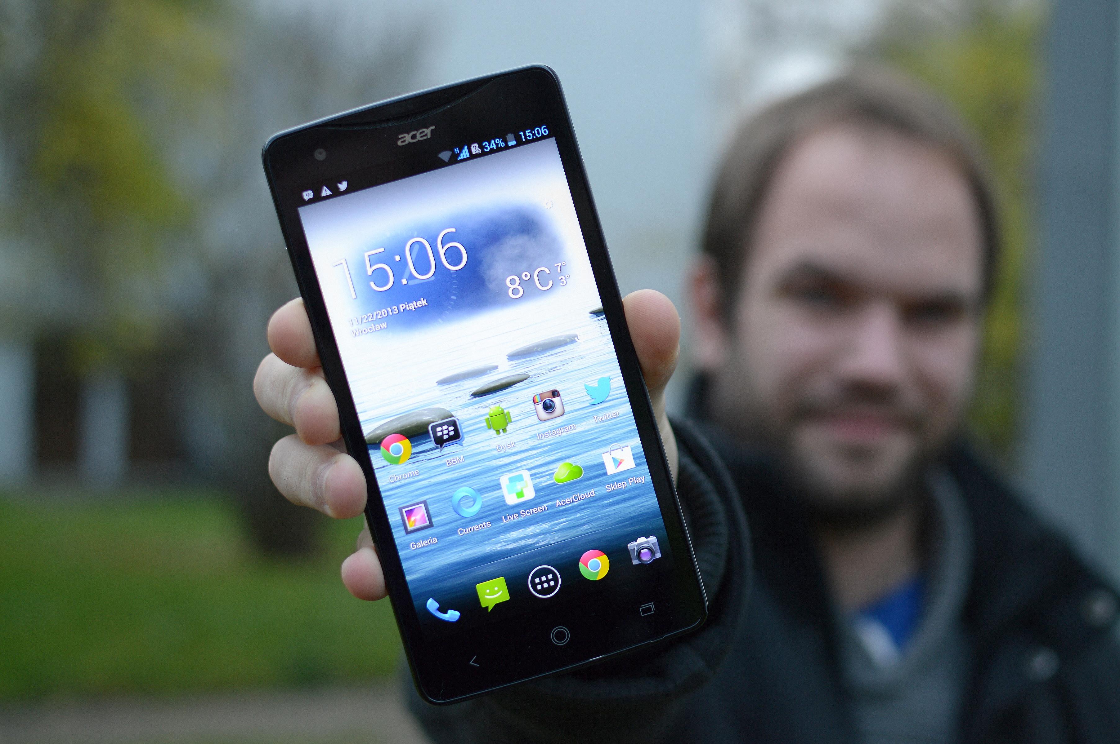 Acer Liquid S1 – tylko wielki ekran czy może coś więcej? – recenzja Spider's Web
