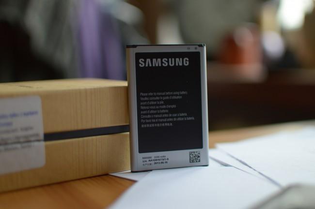 Galaxy Note 3 bateria pojemnosc