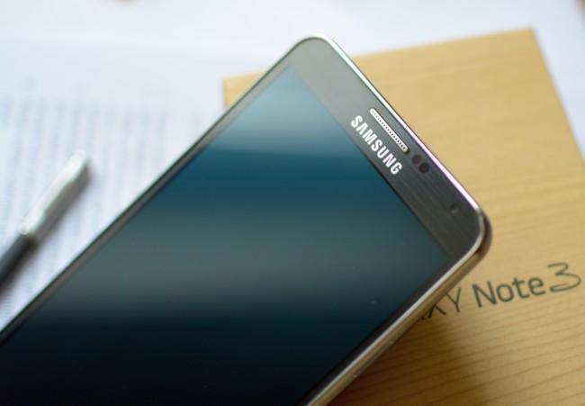 Galaxy Note 3 gora