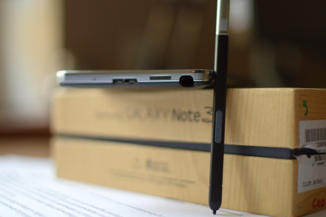 Galaxy Note 3 pen