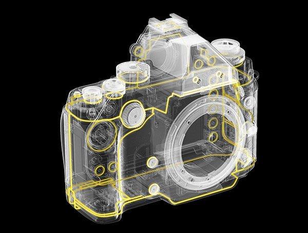 Nikon-Df-body-design