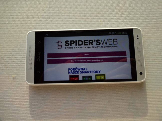 htc one mini spidersweb