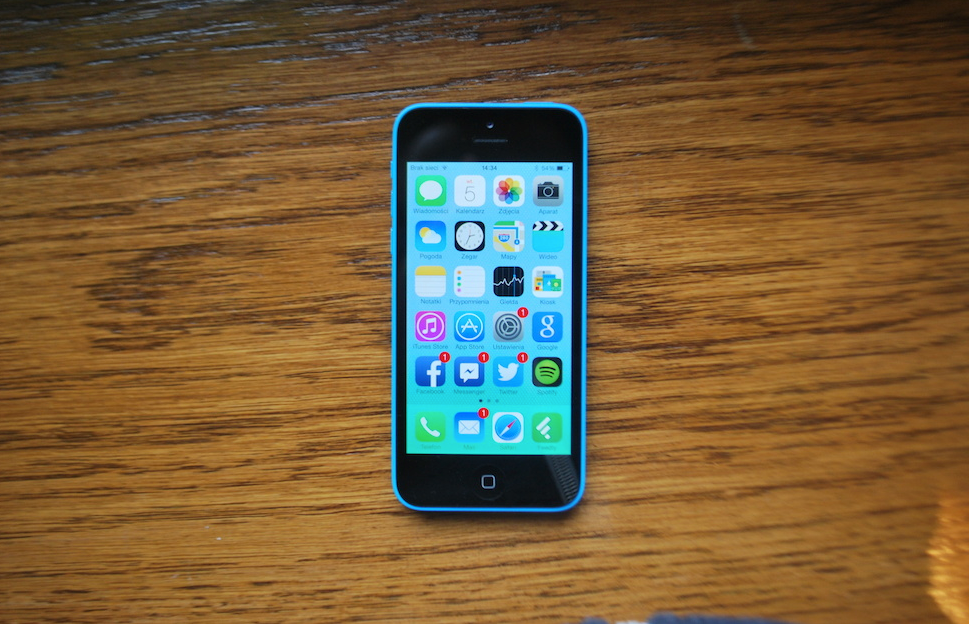 iPhone 5c – recenzja Spider's Web