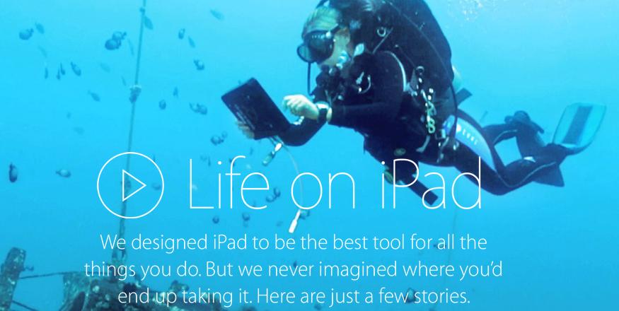 Life on iPad – nowa strona Apple, która ukazuje potencjał iPada, ale też jego problemy