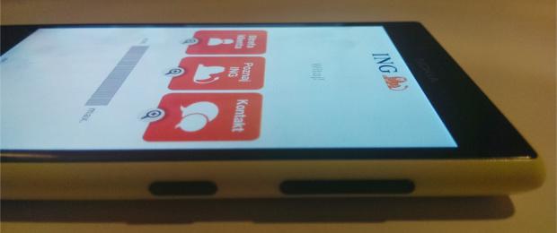 Niezbędnik dla Windows Phone: cały bank w telefonie z aplikacją INGMobile