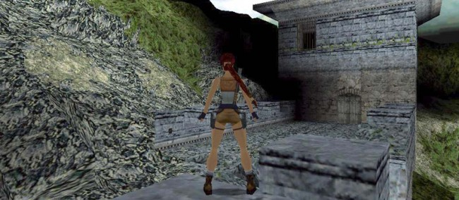 tomb raider 2 chinski mur