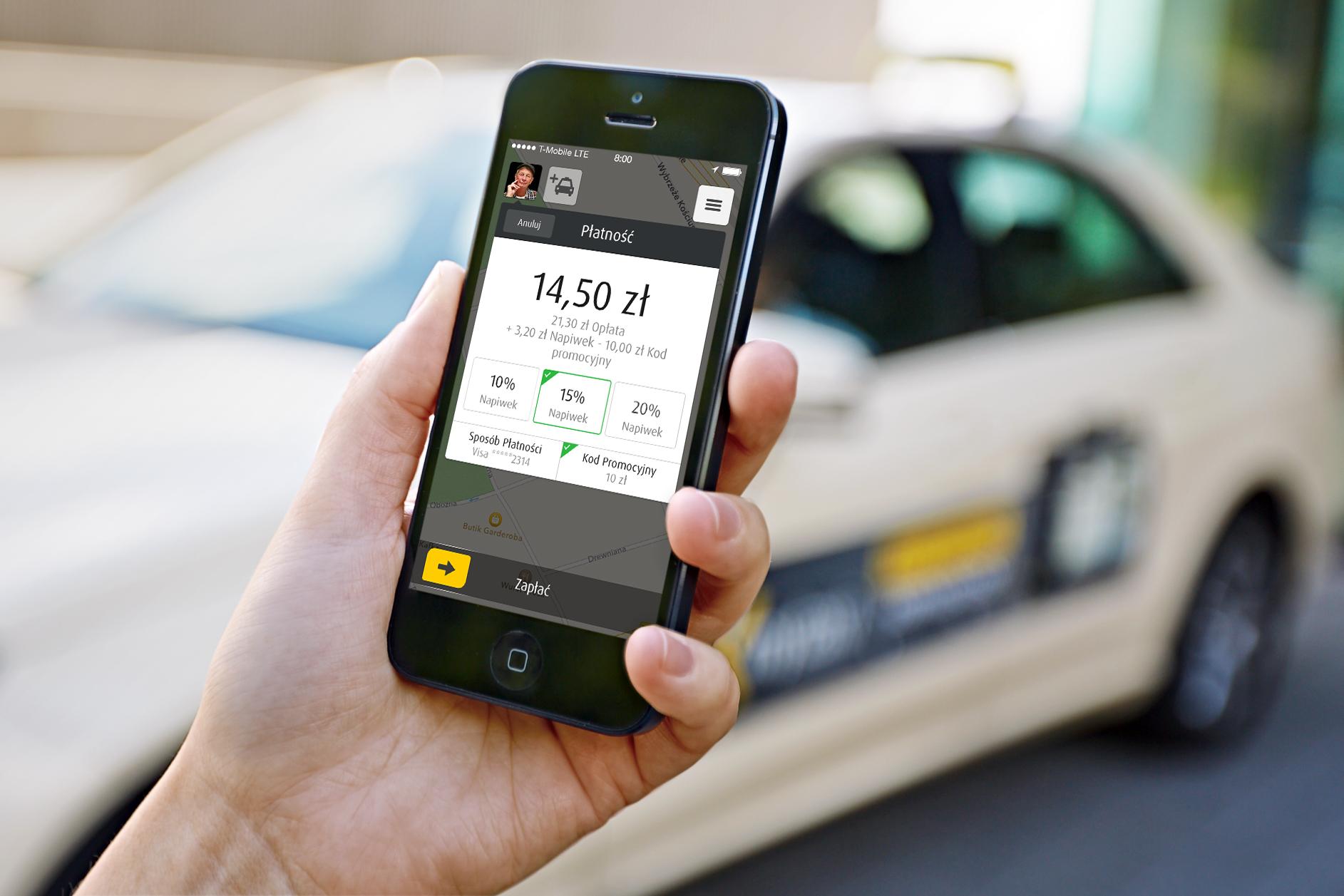 Płatności mobilne w taksówkach mają sens i MyTaxi o tym wie