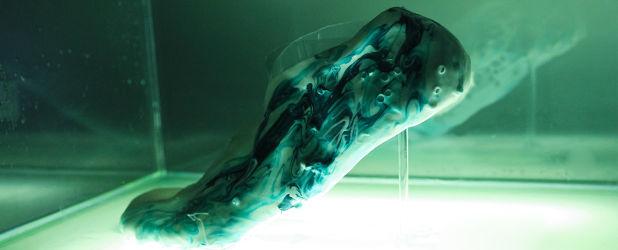 Pokazano buty przyszłości – są żywe, regenerują się i trzeba o nie dbać, jak o roślinę
