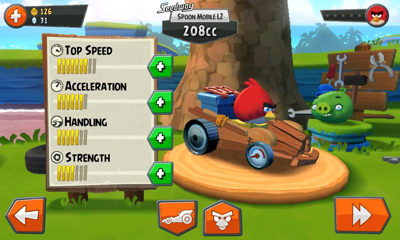 Angry Birds Go! – wyścigi z Wściekłymi Ptakami to świetna sprawa. Szkoda, że Rovio tak bezceremonialnie wyciąga ręce po nasze pieniądze