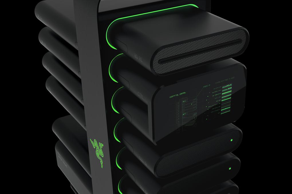 CES 2014: Modułowy komputer od Razer będzie lekiem na spadającą sprzedaż PC? Szczerze wątpię