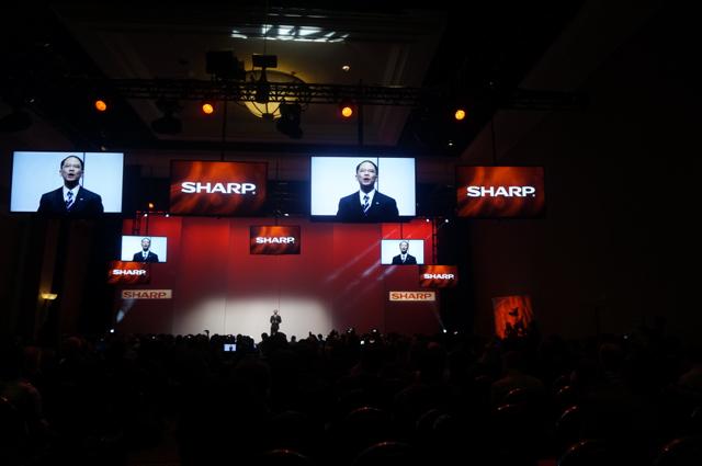 CES 2014: Sharp jest już '4K Ready'