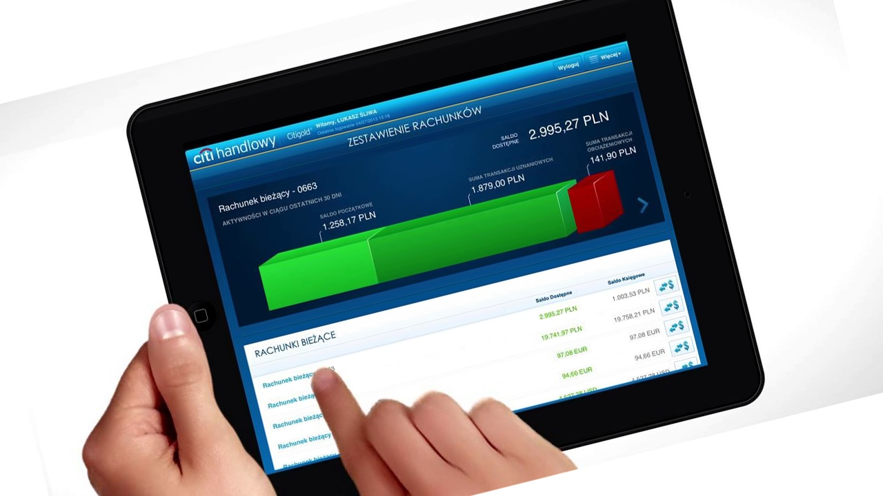 Sprawdzamy aplikację banku Citi Handlowy na iPada