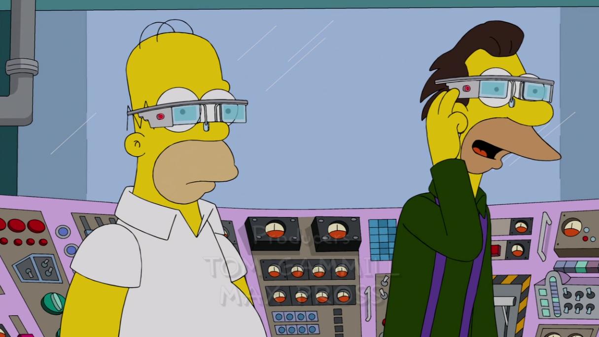 Oogle Goggles – jak Google Glass wchodzą do popkultury