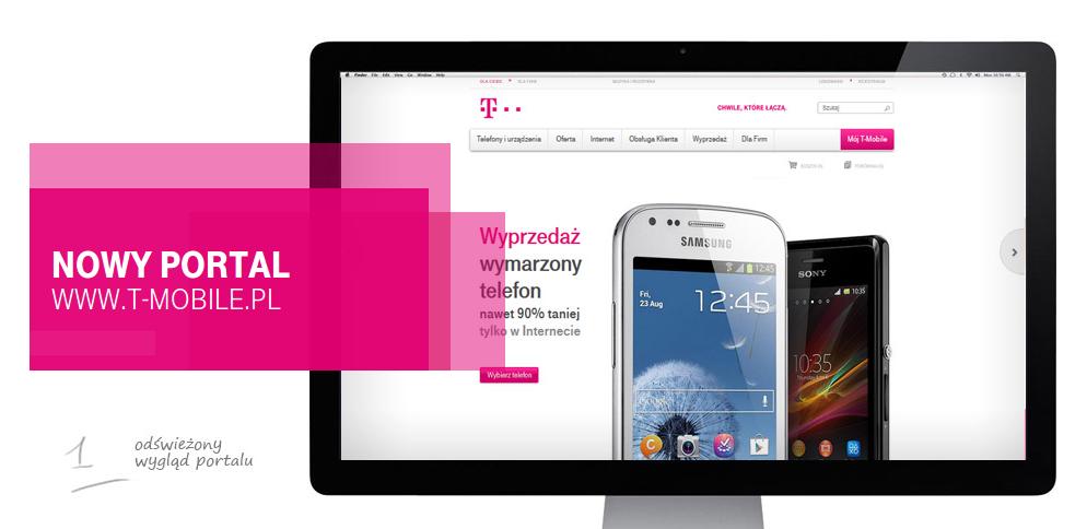 T-Mobile ma nowy portal – taki, jaki powinien mieć każdy operator. Pozostaje mieć nadzieję, że klienci posiadają już wielkie monitory