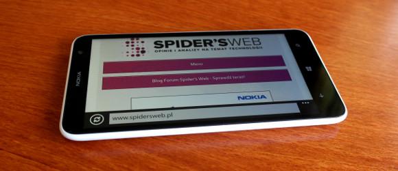 Nokia Lumia 1320, czyli ten tańszy phablet z Windows Phone – pierwsze wrażenia Spider's Web