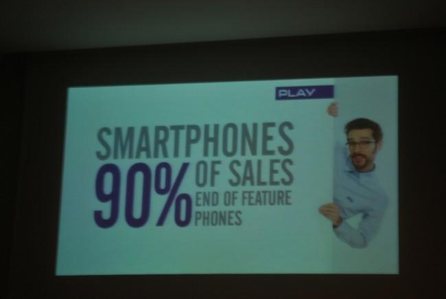 Play na MWC, sprzedaż smartfonów