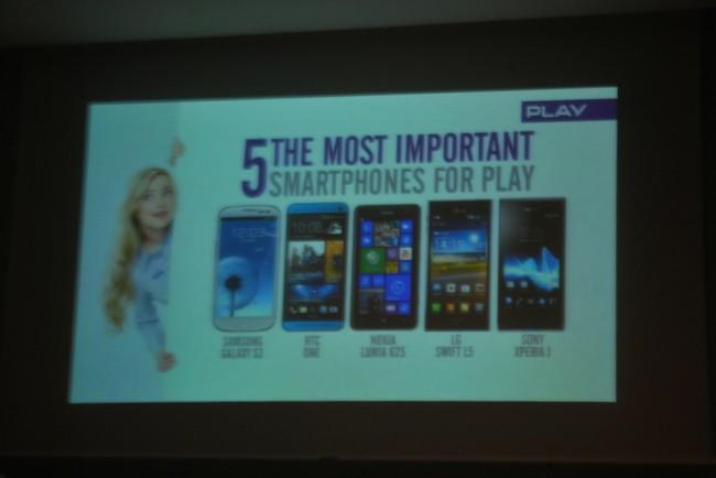 Play na MWC, top 5 smartfonów w 2013