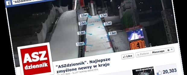 ASZdziennik – ten serwis robi prawdziwą furorę w polskim internecie na… zmyślonych newsach. Rozmawiamy z jego twórcą