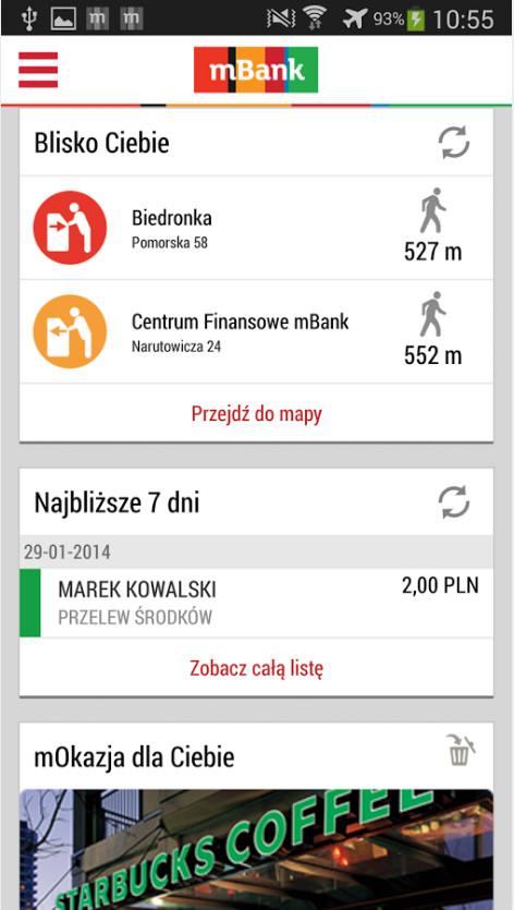 Zupełnie nowe mobilne aplikacje mBanku już są! - pierwsze