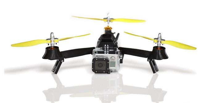 The Pocket Drone – kieszonkowy dron, który udźwignie aparat fotograficzny jest już w zasięgu ręki i portfela