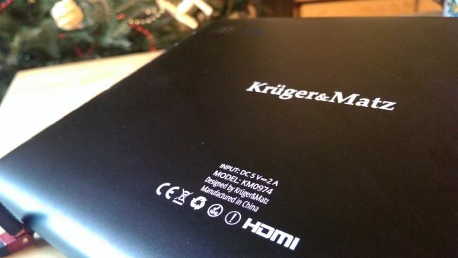 tablet krugermatz km0974 m