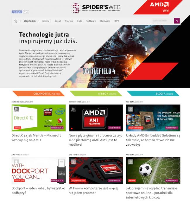 AMD Zone – głowna