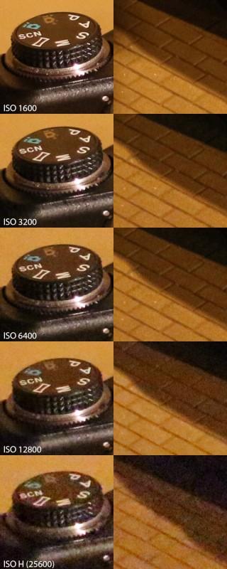 Canon 100D ISO