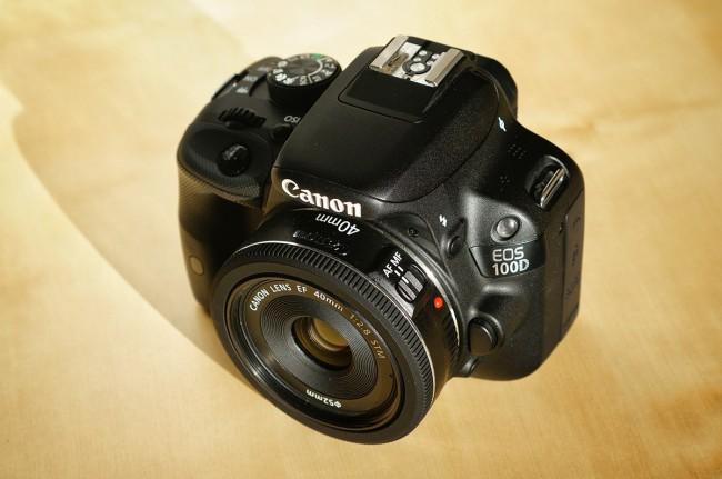 Canon EOS 100D 3