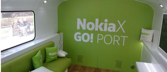 Zielony autobus z Nokiami X przyjechał do Polski – zobacz jak było