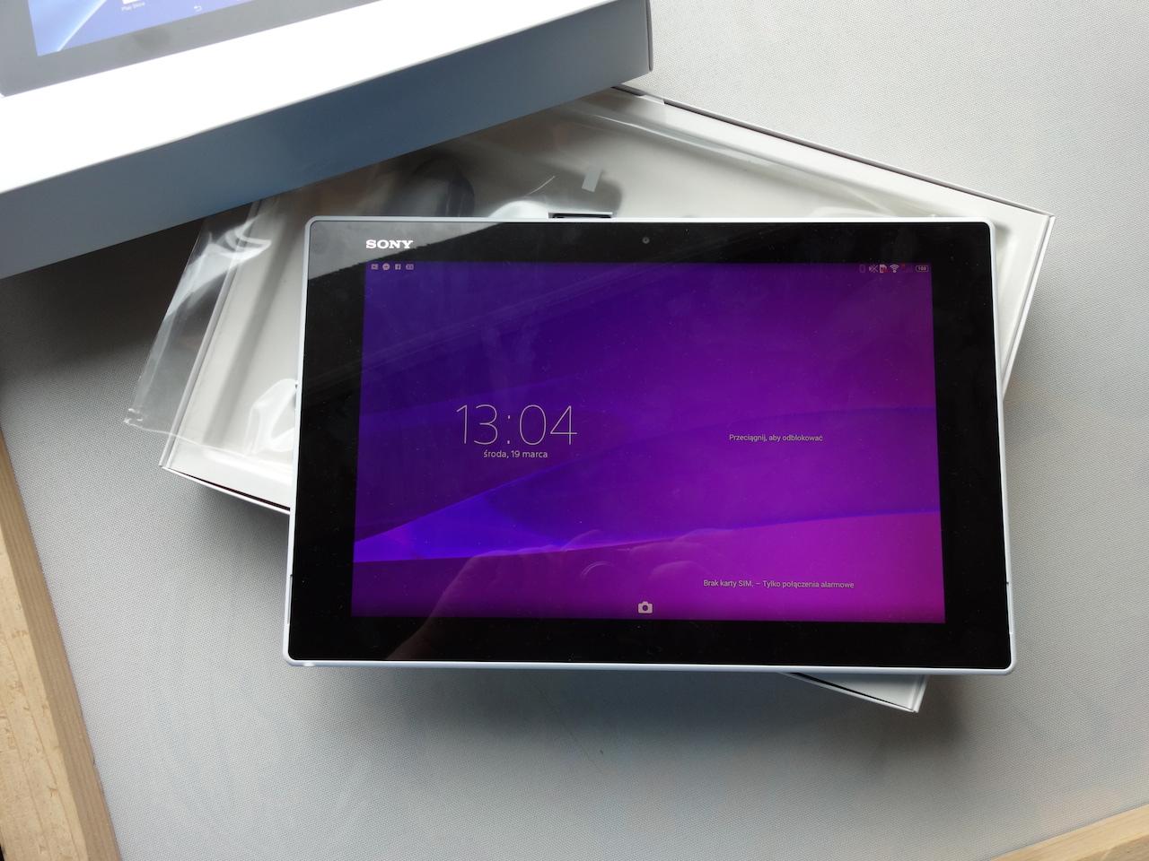 Smukłość i lekkość, czyli Sony Xperia Z2 Tablet – recenzja Spider's Web