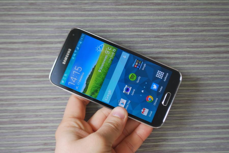 Samsung Galaxy S5 – pierwsze wrażenia Spider's Web