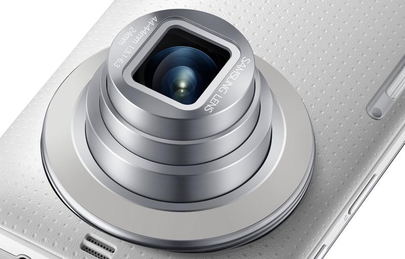 Samsung Galaxy K Zoom zaprezentowany – duża matryca, zoom 10x i… Selfie Alarm