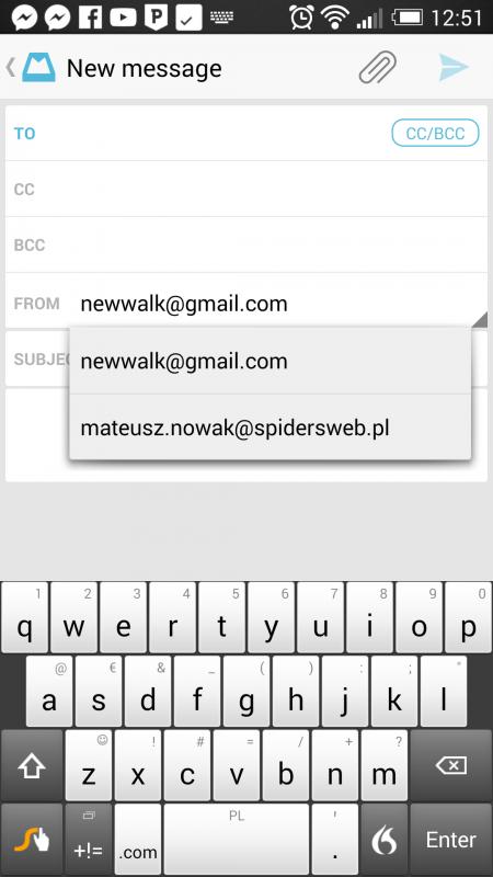 mailbox zmiana adresu