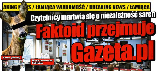 ASZ Dziennik i Faktoid przejmują polskie media? Sorry, takie mamy media i takich mamy odbiorców
