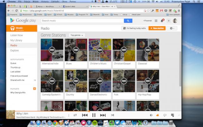 Google Music Polska – Radio