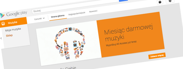 Sklep Google Play Music też już działa w Polsce! Znamy ceny i promocje na start!
