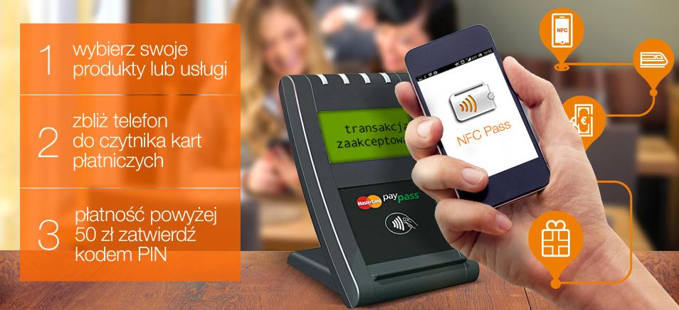 Płatności NFC Pass, czyli już drugi przepis, jak zamknąć w telefonie klasyczną kartę płatniczą – tym razem od Orange, mBanku i MasterCard