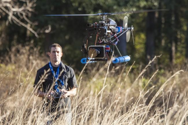 dron foto kamera